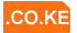 Cheap .co.ke domain registration in Kenya